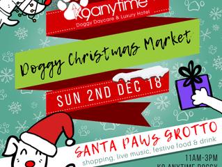 K9 Anytime Doggy Christmas Market 2018
