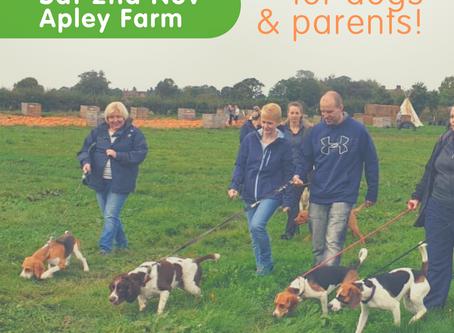 Social Walk at Apley Farm Shop