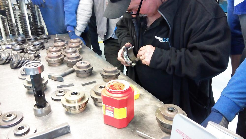 mould equipment repair