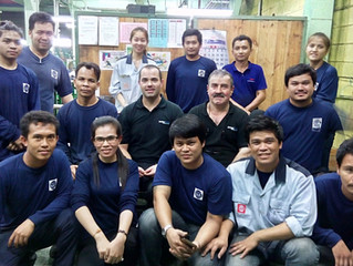 Mouldshop maintenance seminar @ L. Lighting Glass Co., Thailand