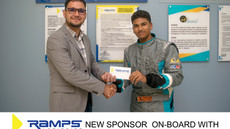 Ramps Logistics is the newest Sponsor on board with Mikhail Persaud