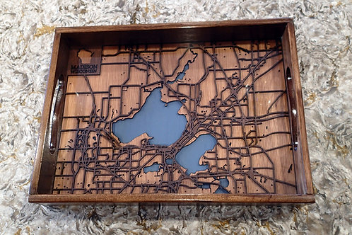 City Street Map Tray