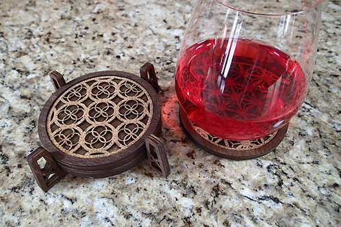 Coasters, Geometric Designs