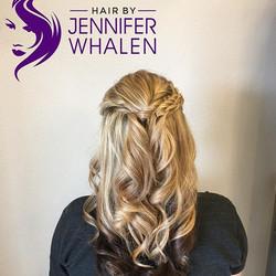 Hair done by Jennifer Whalen #metairiestylist #nolastylist #curls