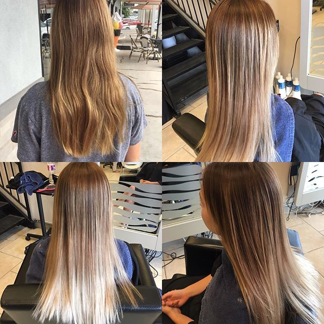 Before and After done by stylist Chrissy Porche!