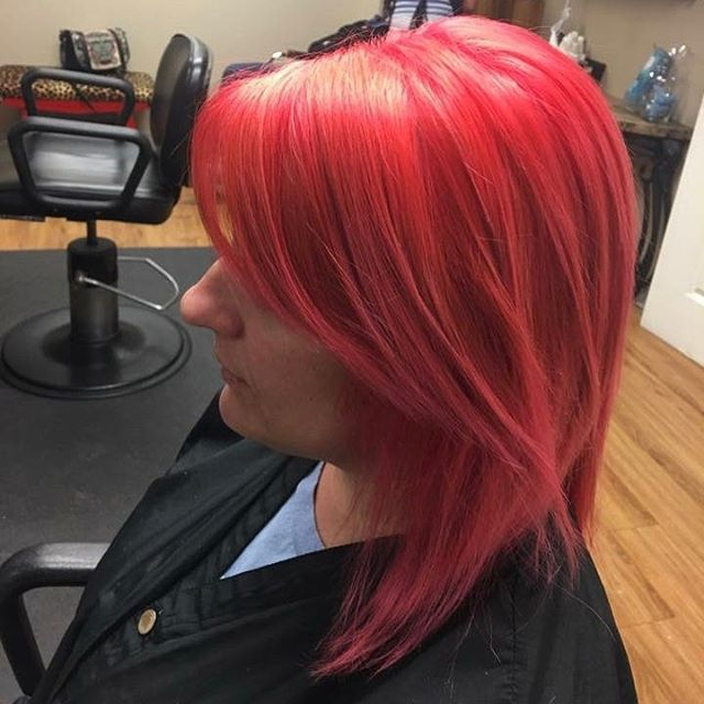Beautiful Fun Color _ Done by _glistenup_  #vibranthair #nolastylist #metairiestylist #loveisintheha
