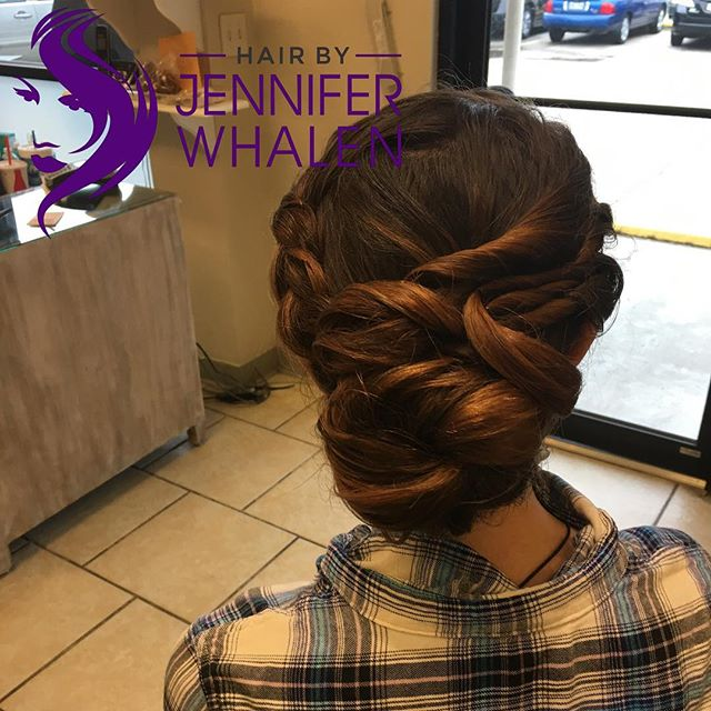 Updo done by Jennifer Whalen #nolastylist #metairiestylist #updos