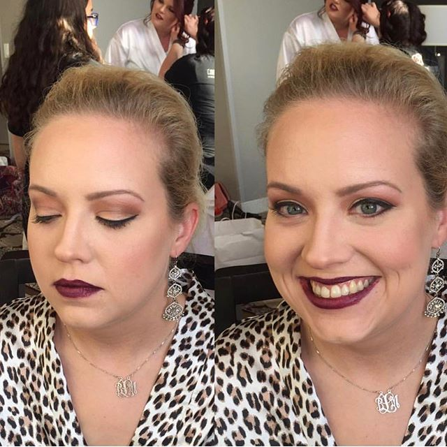 Hair _ Done by _messypantz504  Makeup_ done by _hairandmakeupby_cat #nolawedding #bridalmakeup #newo