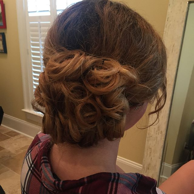 Updo done by Tessa Legaspi!