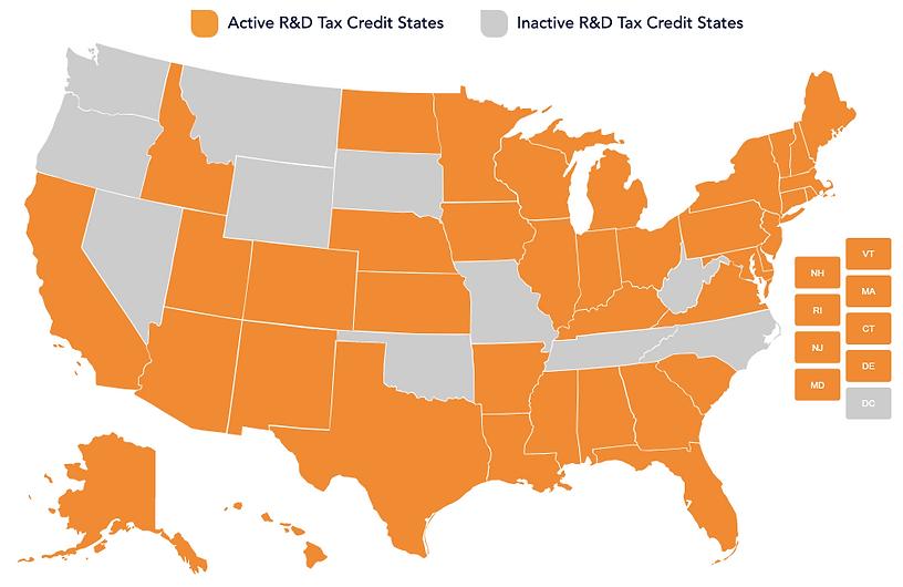 Tax Credit Map