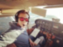 Студент лётной школы