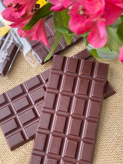 Barra Chocolate 80g Sin azúcar