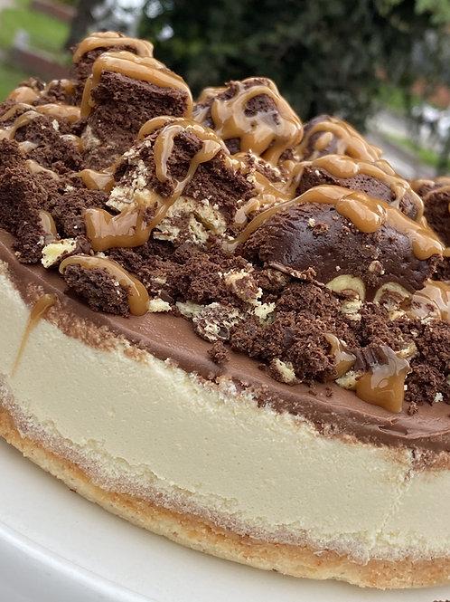 CheesesCake Keto Brownie