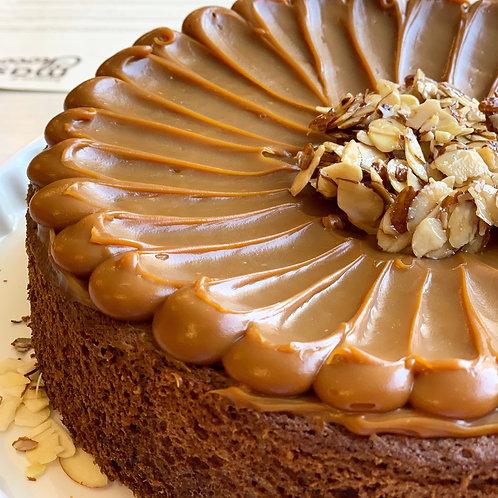 Cake Choco Arequipe Keto