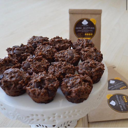 Mini Muffins Proteina Chocolate