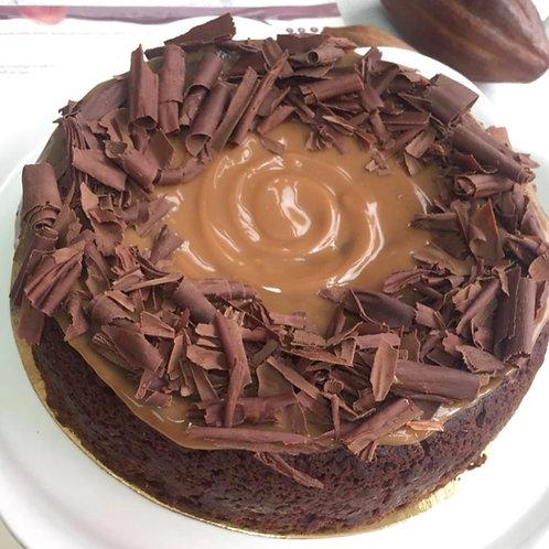 Cake Choco Arequipe Vegana