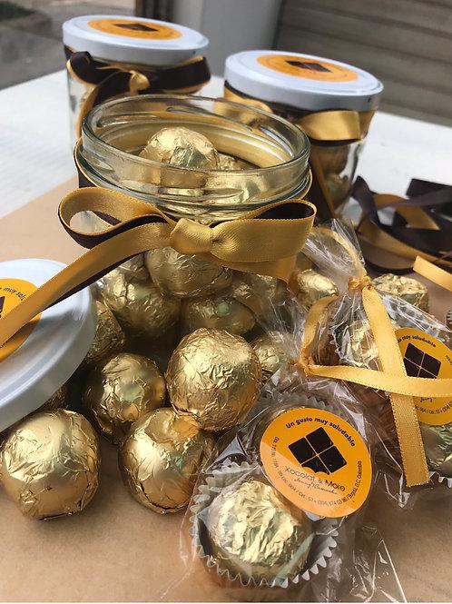Bombon Ferrero con Proteína