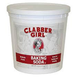 Bicarbonato Clabber Girl 2,27 libras