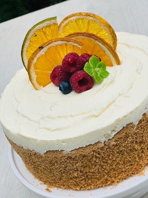 Cake Abigail Naranja