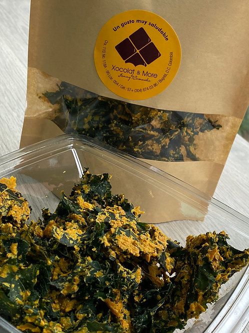 KALE CHIPS QUESO MARAÑON