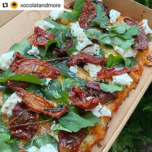 Pizzeta Keto Cabra Tamaño Personal
