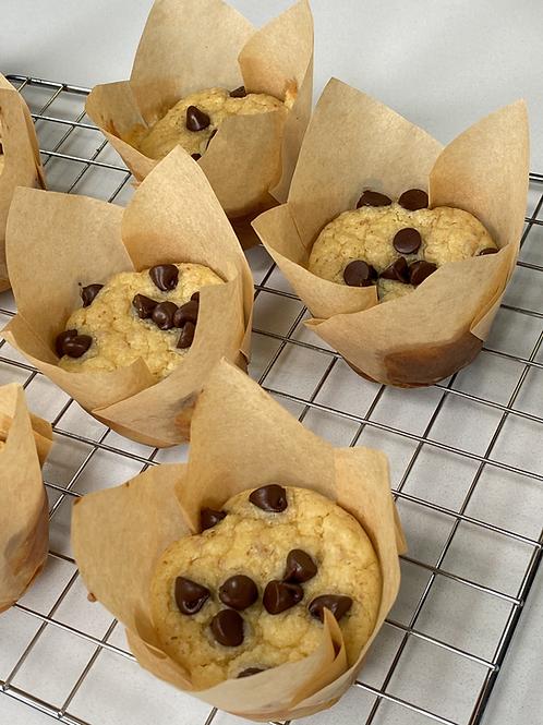 Muffins keto Chips Chocolate