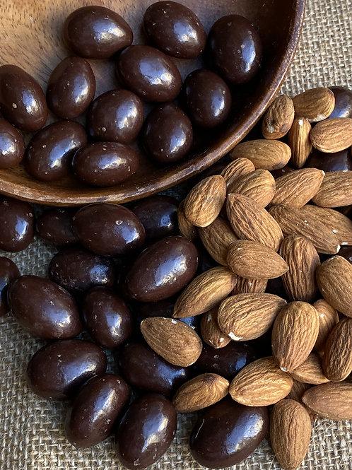 Almendras con chocolate sin Azúcar