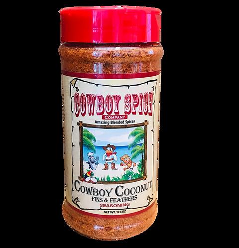 COWBOY COCONUT FINS & FEATHERS