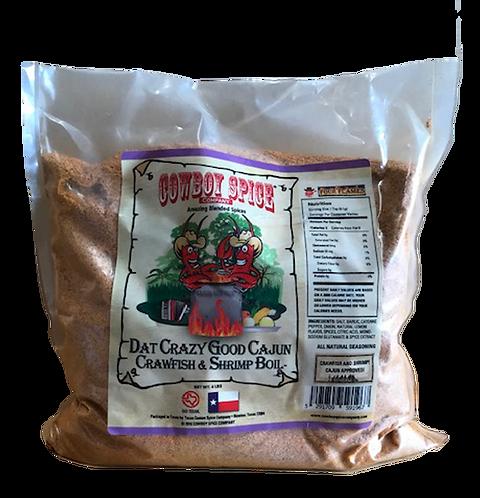 DAT CRAZY GOOD CAJUN CRAWFISH & SHRIMP BOIL - 4 LBS