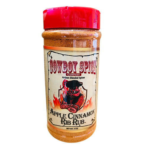Apple Cinnamon Rib Rub