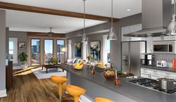 McKinley Row Living Area