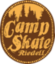 Camp Skate Riedell logo.png