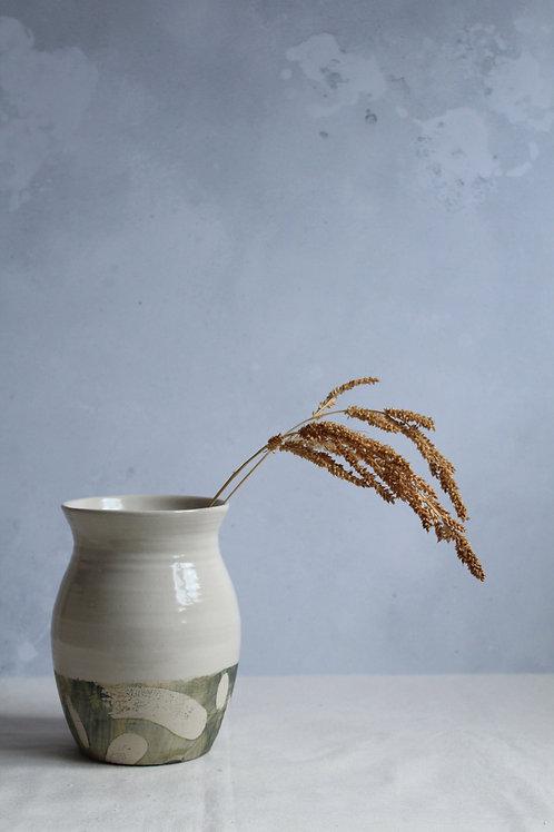 River - Large Stoneware Vase by Kate Welton