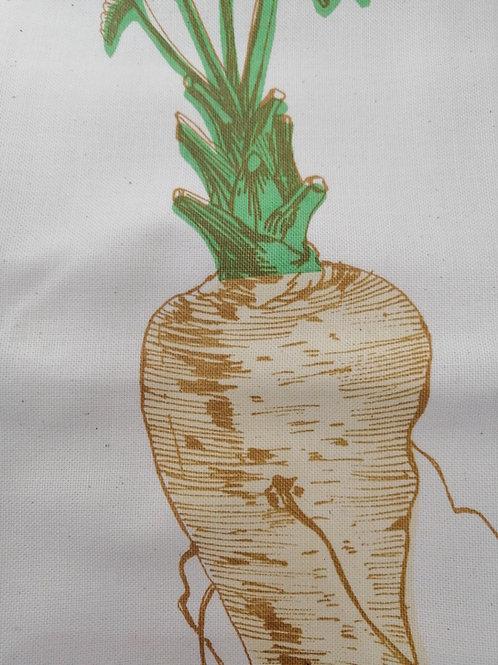 Parsnip Vegetable Tea Towel