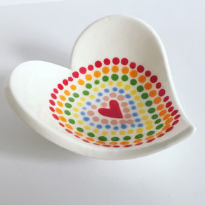 New Ceramics, Prints and Cards by Flora Olney at Wonky Wheel Gallery