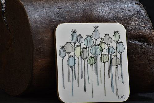 Poppy Seeds Coaster