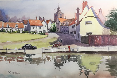 Finchingfield in Reflection
