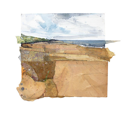 'To Happisburgh' Mixed Media by Alfie Carpenter