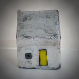 Small Yellow Door Raku house