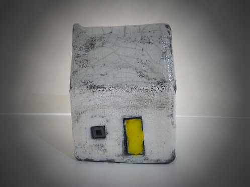 Small Yellow Door Raku house
