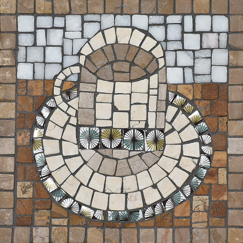 Cup for Tea - Mosaic Artwork