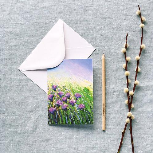 Meadow Dance Greetings Card