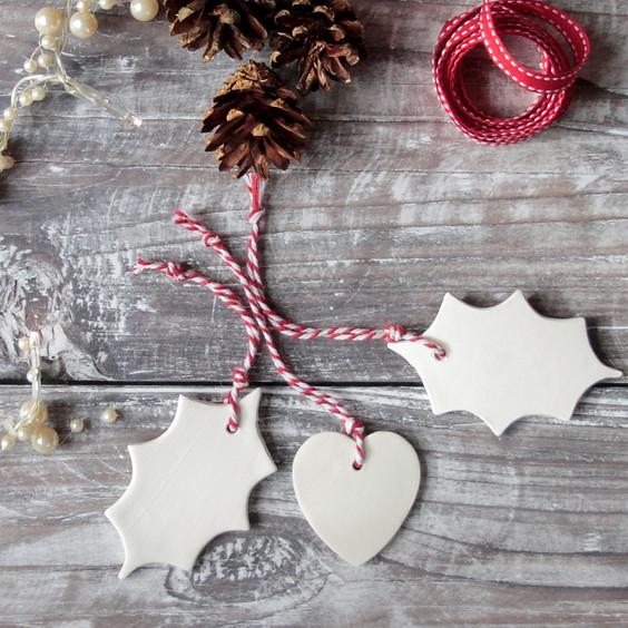 Porcelain Christmas Decoration Making!