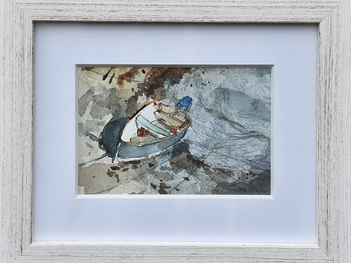 Small Cornish Dingy no 1 by Helen Wiseman