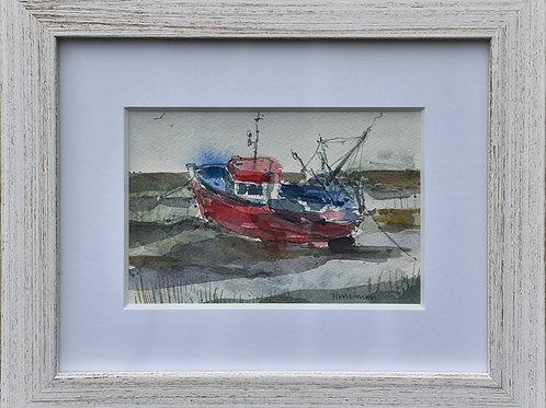 Fishing Boat at Mersea by Helen Wiseman