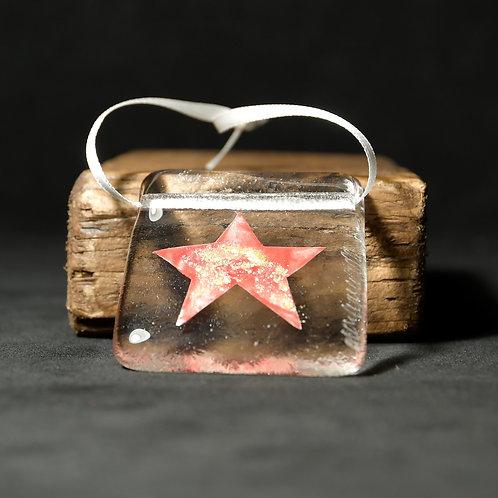 Hanging Stars Glass Artwork