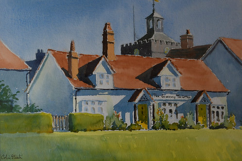 Cottage on the Hill Painting