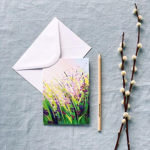 Resplendent Light Greetings Card