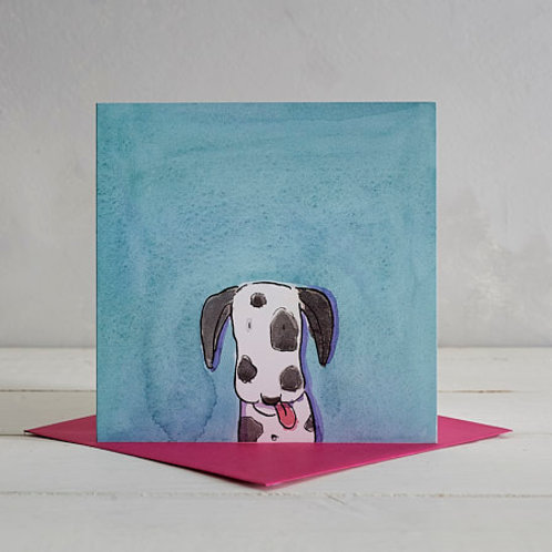 Dalmatian Card by Helen Wiseman