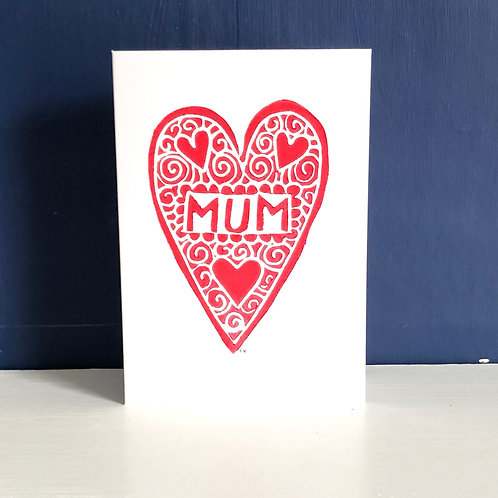 Mum - Mother's Day Greetings Card